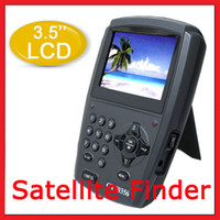Wholesale Portable quot Digital LCD Monitor DVB S Satellite Finder Signal Meter