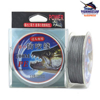 Wholesale Fishing Line Braided wire New Fishing Power PE Line m mm tackle tools PE01