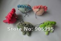 apple dumplings - New arrive dumpling phone pendant Plush key chain color cm Plush Drop shopping Who