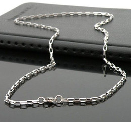 Simple stainless steel necklace handmade fine polishing never change color