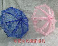 victorian parasol - Kid s Full Lace White Parasol Umbrella Wedding Bride Handmade Victorian PARASOL Grils Ivory Red Blue