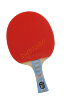 Wholesale DHS DOUBLE HAPPINESS SPORTS Table Tennis Racket Ping Pong Stars Long Handle