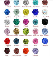 Wholesale Classical DIY jewelry soft pottery drill ball full drill beads