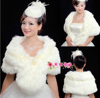 Ivory White Faux Fur Pearl Lace Shawl 2013 Bridal Prom Party...