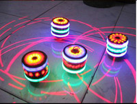 Wholesale EMS free for AUS NEW Top funny music LED light singing rotating peg top kids toy birthday Xmas gift