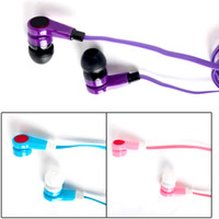 Wholesale In Ear cute colorful Earphone for iphone MP3 MP4 for Christmas gift multi colors