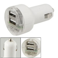 Wholesale 2 Port Dual USB DC Car Charger Adapter Accessory for iphone G S