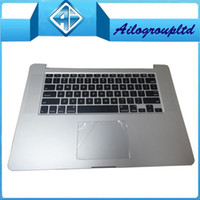 Wholesale New Original For Macbook Pro quot Retina A1398 top case upper case with keyboard and trackpad mc975 mc976 Year