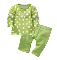 Wholesale girls tracksuits baby suits t shirts sweatshirts jumpers tops jersey trousers long pants sets M1290