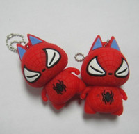 Wholesale Carton USB Flash Disk Memory Stick Driver Spider Man for The Avengers GB GB GB GB box