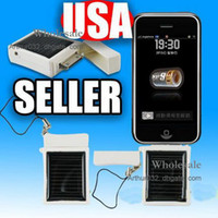 Wholesale High Quality MD968 Mini Solar Battery Panel Charger Portable For IPhone G S G IPAD ipod