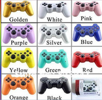 Wholesale Best quality Wireless Bluetooth Controller For SONY PS3 in Colors Hot Sale for chrismas gift