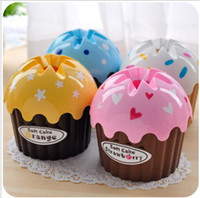 Wholesale Creative Ice Cream cake design tissue extraction Tissue Box Table Decoration amp Acces christmas Gift