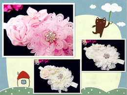 Wholesale The Ella Grace Baby girl headband Vintage inspired Newborn Headband womans hair band