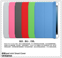 Wholesale For IPad Mini Magnetic Smart Cover Case Auto Sleep Leather Front Protector Stand Case Retail