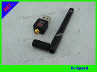 Wholesale Mini M Mbps USB WiFi Wireless Network Card n g b LAN Adapter with Antenna C1289 SKYBOX