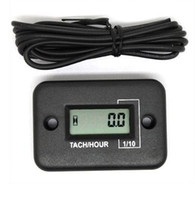 Wholesale Tachometer Hour Meter For Motorcycle ATV Snowmobile Boat Stroke Gas Engine