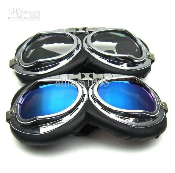 motorcycle sunglasses  New Protect Motor Motorcycle Goggles Colored Sunglasses Scooter ...