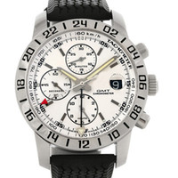 Men's whites gmt - Luxury White GMT Automatic Rubber Bands Mens Watch Mechanical Stainless Steel Men s Watches