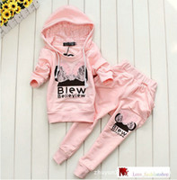 Wholesale 2014 Children s minnie mouse set Girls boys hoodies suits piece set hoodies pant leisure suit children s hoodies Christams Costume