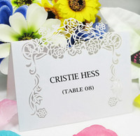 Wholesale Rose Vine Place Card