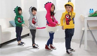 Wholesale Girls Boys hoodies Winter track suit cute jacket hoodies children s hoodies coat Children s clothing