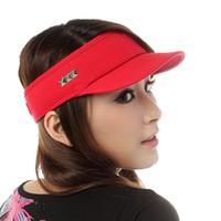 Wholesale Summer hat female summer hat brief visor summer outdoor cap casual millinery