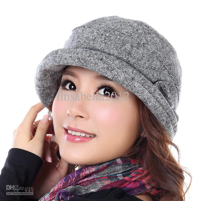 2013 autumn and winter womens hats models picture