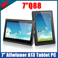 Wholesale Q88 inch Allwinner A13 Android Tablet PC Epad M GB GHz WiFi Camera P Youtube Ebook