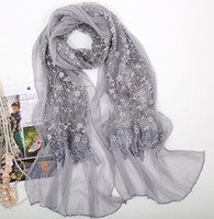 Wholesale 2012 new women chiffon double layer scarf tassels scarf lady scarf pattern color lace