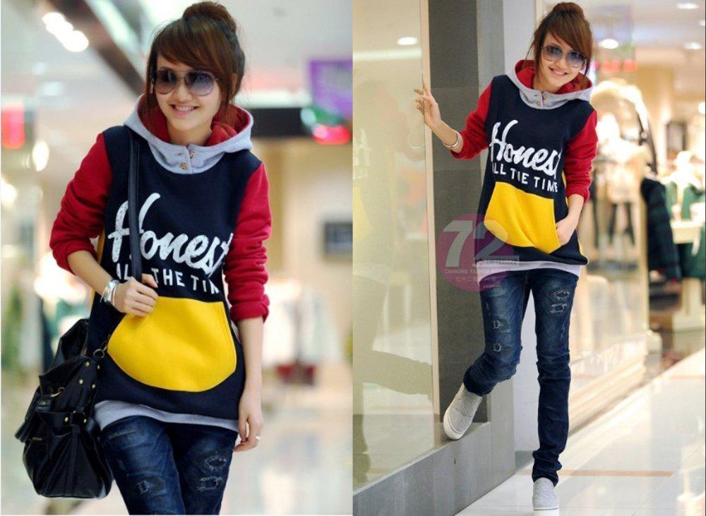 Free Shipping /2012New Autumn/Winter Women Hoodie/Fashion Women's