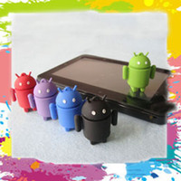 Wholesale 2GB GB GB GB Cartoon Android robot USB Flash Pen Drive Disk Memory Stick Thumb Jump Drives Box