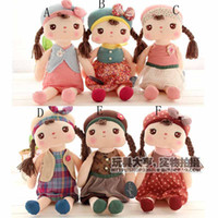 Wholesale 12 Lovely Baby Angela Plush Doll Metoo Stuffed Animals styles Rabbit Dolls Plush Toys Girls Gift
