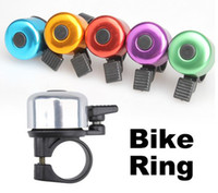 Road Bikes Handlebars Horn Metal Bell Sound for Bike Cycling Ring Handlebar Bicycle Metal Bell Bike Cycling