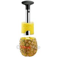 pineapple peeler - 1set Stainless Steel Pineapple Corer Slicer Peeler Cutter Kitchen Tool