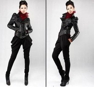 New Fashion Women Pu Faux Leather Jackets Ladies Pu Jacket Outwear Short Outerwear Black Size S M L From Yanghy1227, $28.28 | Dhgate.Com