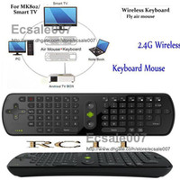 Wholesale High Quality PC RC11 Gyroscope Mini Fly Air Mouse GHz Wireless Keyboard for Android Smart TV BOX