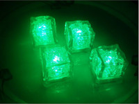 Wholesale mm LED waterproof luminous ice induction ice cubes