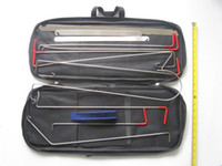 Wholesale KLOM Auto Quick Open Kit locksmith tool quickly open most of the car door S064
