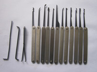 Wholesale Locksmith Lock Picks Hook Picks Lock Pick Sets Broken Key Tools Freeshipping S045