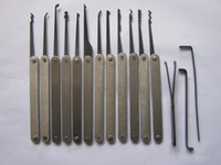 Wholesale 12pcs Hook Picks lock pick lock pick tool locksmith tool from egomall S045