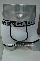 Wholesale Hot Sell White Colors Men s Boxershorts Underwear Mens Cotton Boxer G1
