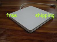 Wholesale amp Super slim slot in External Laptop USB2 DVD RW Drive White