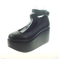lolita shoes - Platform Shoes Cute Princess The New Lolita Shoes Black Platform Shoes EMS