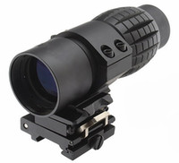Wholesale Tactical x Magnifier Quick Flip Scope w Flip To Side Mount Fit Aimpoint EO Holographic Sight
