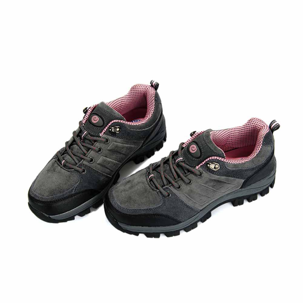 Women s Hiking Shoes Grey Pink Running Shoes Athletics Sports Shoes