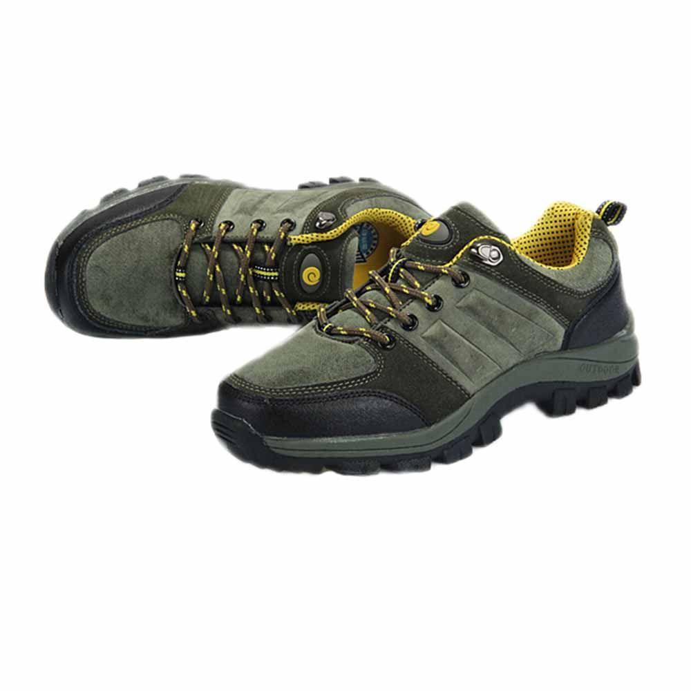 Women s Hiking Shoes Running Shoes Athletics Shoe Grey Yellow Sports
