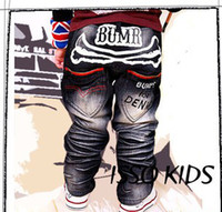 Wholesale Factory Direct ISSOKIDS children kids Jeans trousers Boys Pants Washed Jeans