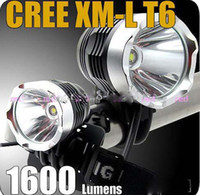 Wholesale Free DHL CREE XM L T6 L LED Bicycle Light HeadLight headLamp