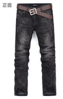 Wholesale Mens designer cotton denim jeans trousers size Y